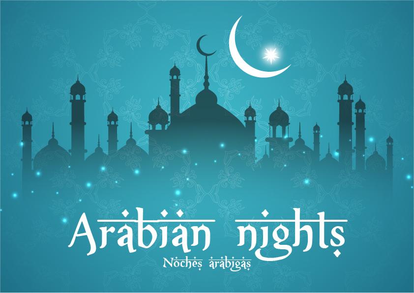 arabian nights noches arábigas  - Ejercicio de escritura creativa #1: Arabian nights