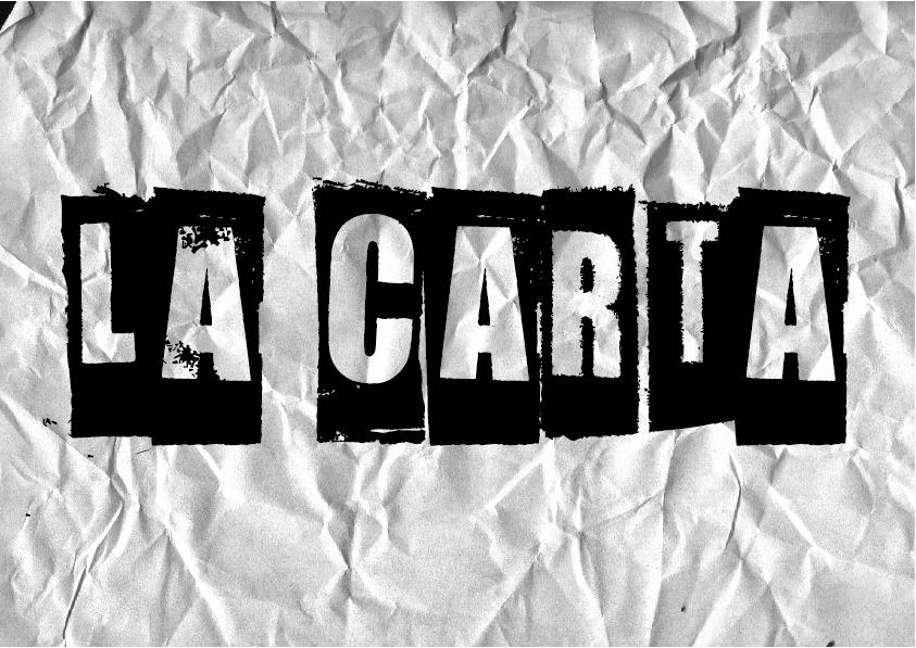 Poster La carta2 - Ejercicio de escritura creativa #2: La carta